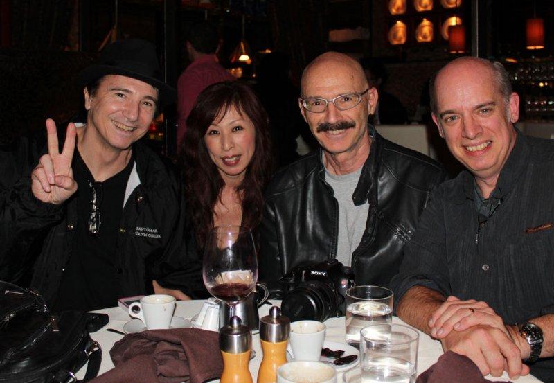 Terry Bozzio and Mayumi, Tony Levin, Denis Rodier